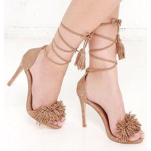Steve madden Sassey strappy sandal heel